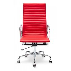 GEF6831  Replica Eames Office High Back - PU(vinyl)