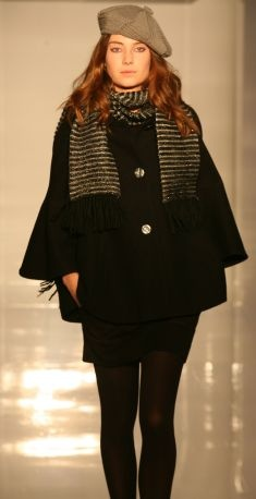 Oasis coat from the catwalk show