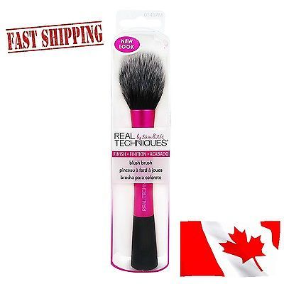 New Blush Brush Synthetic Bristles Pro Makeup 100% Cruelty-Free Flawless Finish
