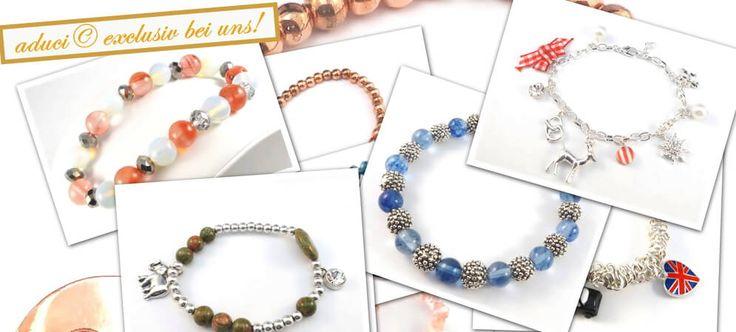 Edelsteinarmbänder aus der Designerkollektion