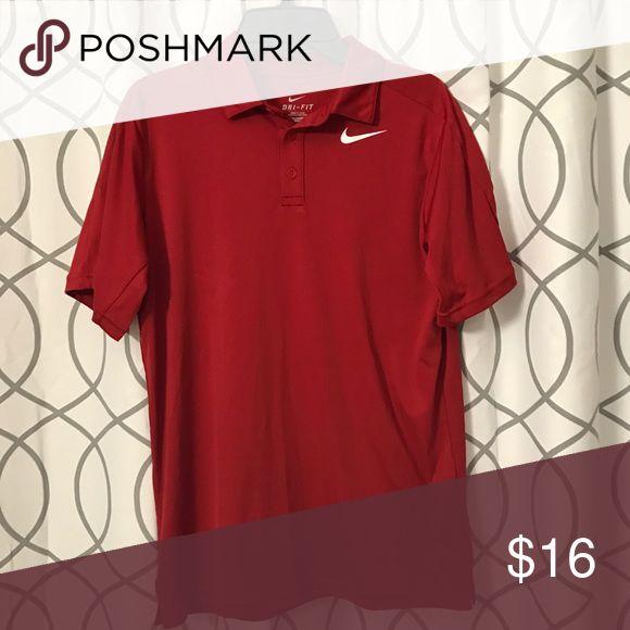 Boys Nike polo shirt L 100% polyester Dri-Fit polo shirt Nike Shirts & Tops Polos