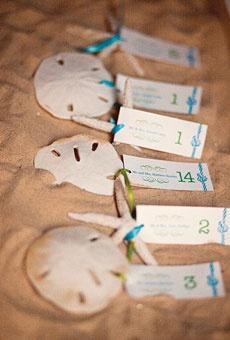 escort cards: Wedding Beach, Place Cards, Wedding Ideas, Wedding Stuff, Beach Theme, Beach Weddings, Sand Dollars, Dream Wedding, Weddingideas