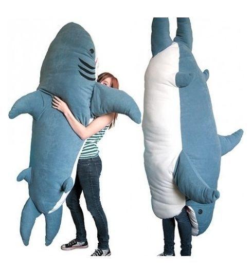 Want.: Stuff, Sleeping Bags, Funny, Things, Sharks, Pillows, Shark Pillow