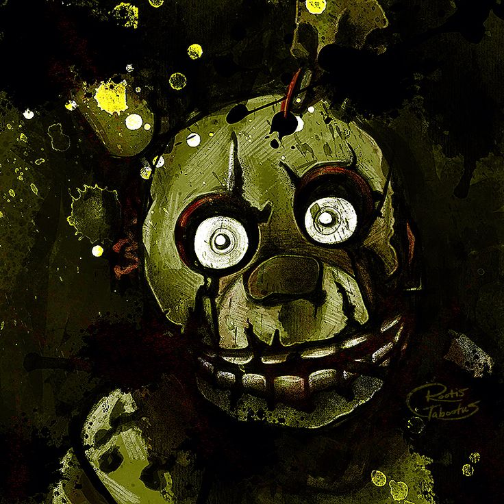 Five Nights at Freddy's 3 Spring Trap by RootisTabootus on @DeviantArt