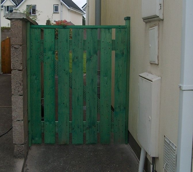 Timber Side Gates & Shed Door's made to measure in Cork