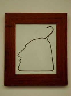 Hanging Man in Porcelain (2009)