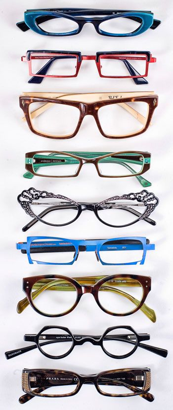 I spy a ProDesign and Lafont what do you see?Funky eyewear~