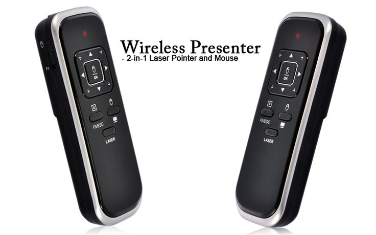 Wireless Presenter - Laser Pointer and Mouse 2-in-1                                                    http://www.chinavasion.com/7jjt/: Mouse 2In1, 2In1 Httpwwwchinavasioncom7Jjt