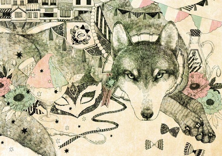 タイトル::wolf  イラストレーター::杏 チアキ