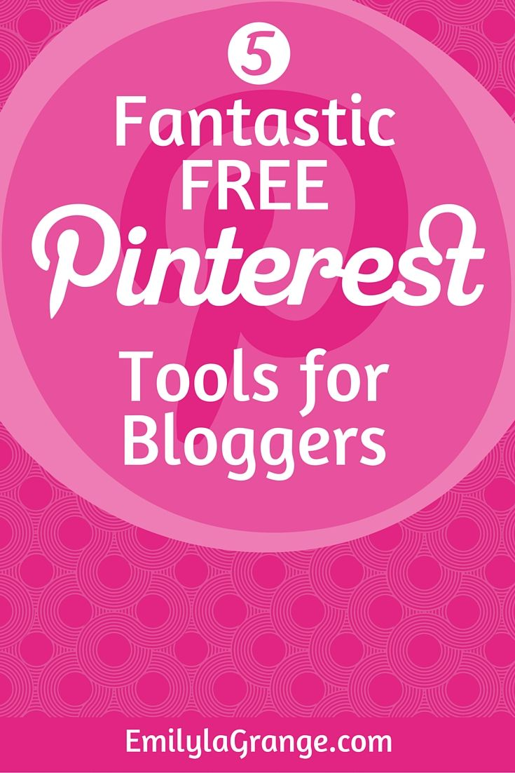 Pinterest ROCKS – here are 5 of my favourite FREE tools to help you with your Pinterest marketing efforts…