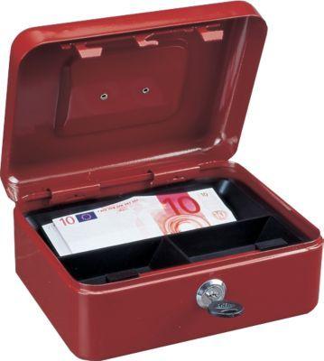 Rottner Traun 2 Geldkassette rot Jetzt bestellen unter: https://moebel.ladendirekt.de/dekoration/aufbewahrung/kaestchen/?uid=8e00cd46-e3bf-5067-9b15-b3320f5a97e8&utm_source=pinterest&utm_medium=pin&utm_campaign=boards #heim #tresore #aufbewahrung #kaestchen #dekoration