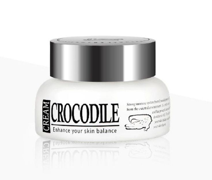 Crocodile Oil Cream 50ml Anti Aging Wrinkle Care Skin Repair Omega & Oleic Acid  #Puregen