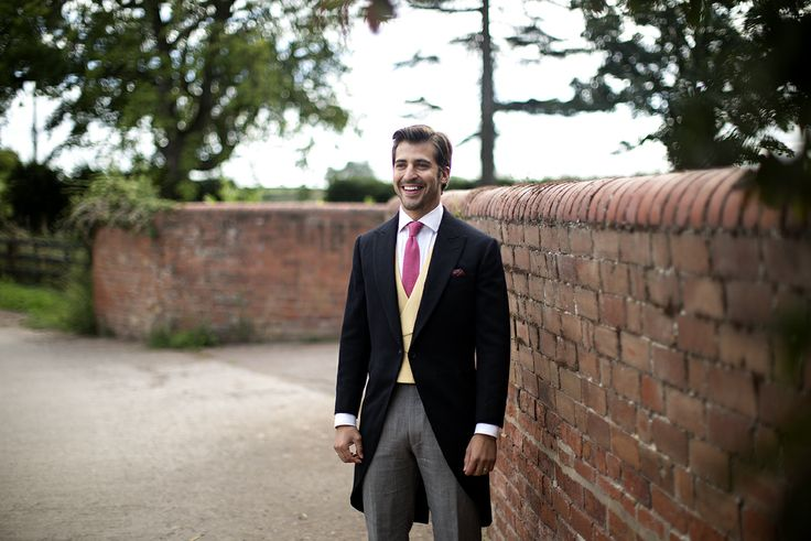 Bespoke morning suit, perfect for the groom, by Cad and The Dandy, Savile Row tailors.  www.cadandthedandy.co.uk