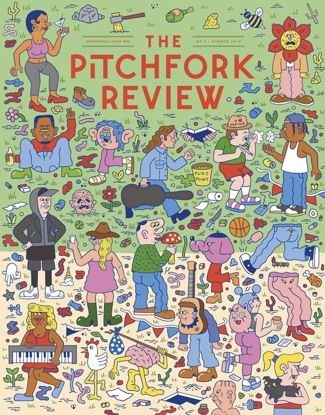 """The Pitchfork Review Issue Three Available at Pitchfork Music Festival, Features King Tuff/The Lentils 7""""   News   Pitchfork"""