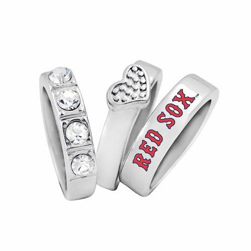 Boston Red Sox Ladies Undefeated Ring Set