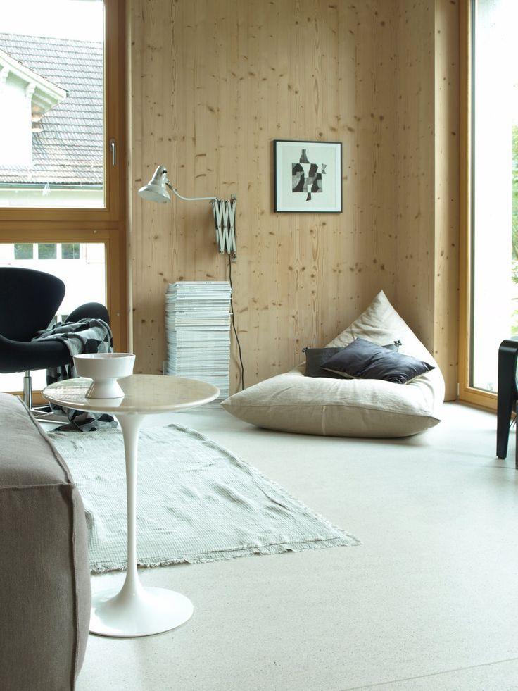 Das Musterbeispiel Für Modern Wohnen Mit Holz Steht In Der Schweiz, Genauer  Gesagt In Der.