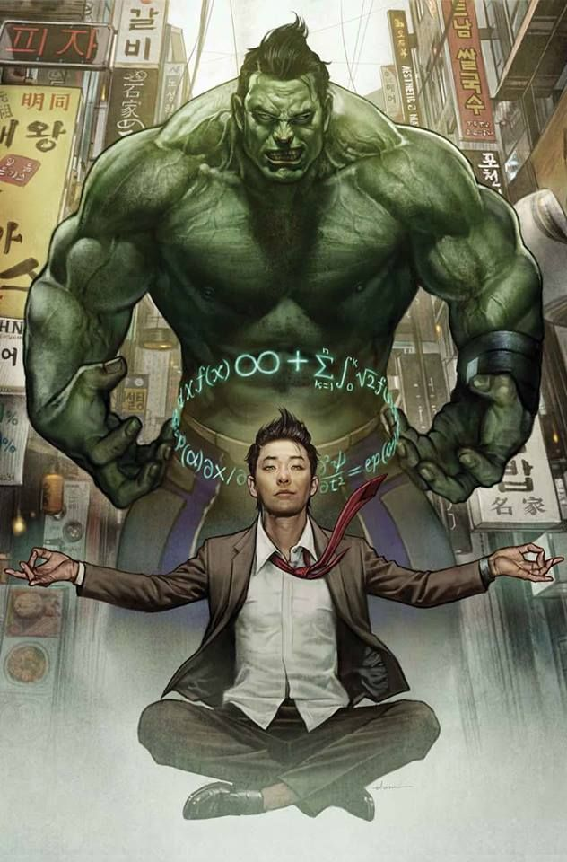 Hulk (Amadeus Cho) by Stonehouse