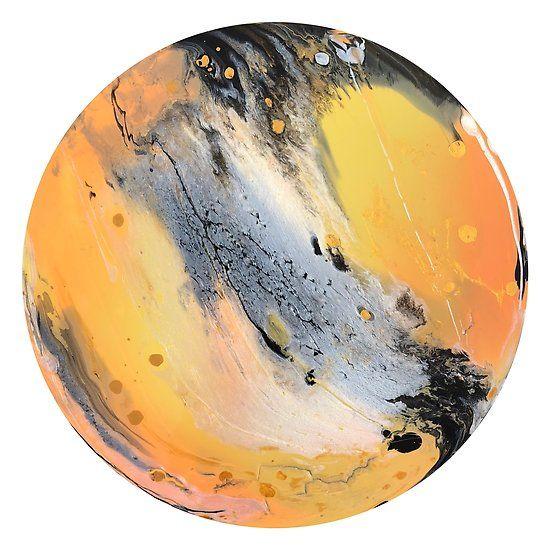 Rising Sun Orange Gold Pearl