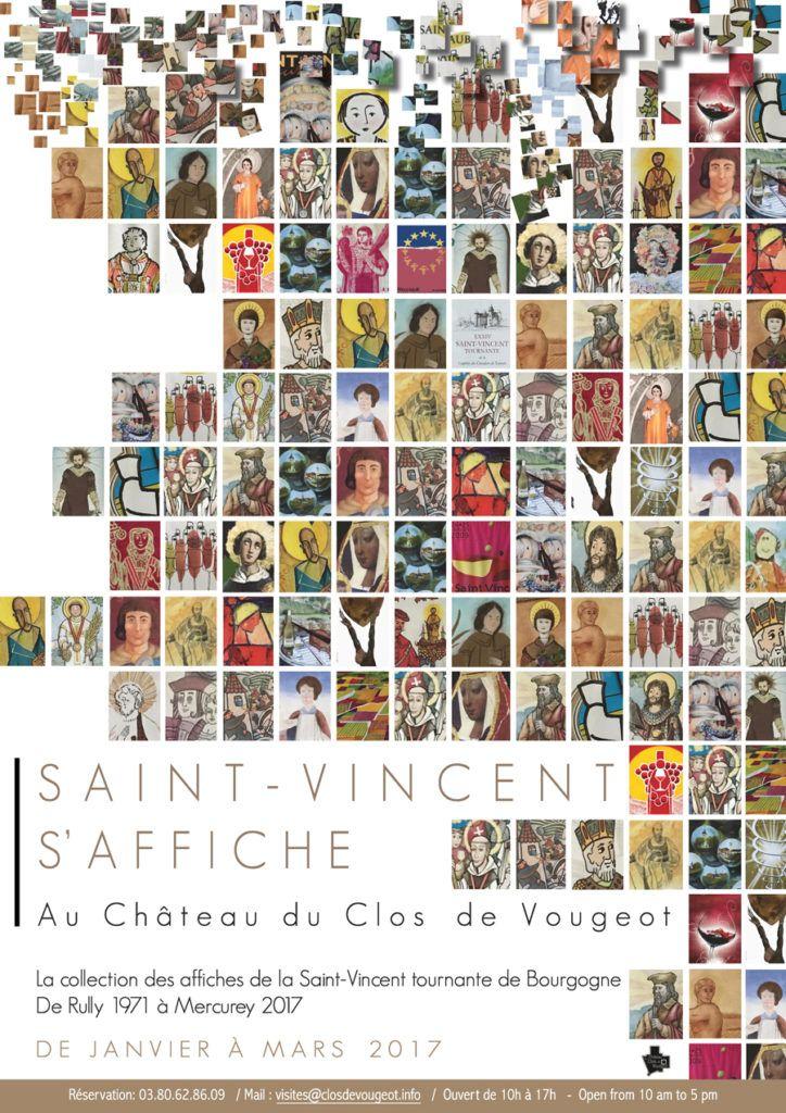 Du 21 janvier au 31 mars, le Château du Clos de Vougeot accueille l'exposition « Saint-Vincent s'affiche ». Une rétrospective unique de quarante-cinq fêtes de la Saint-Vincent couchées sur papier, de Rully 1971 à Mercurey 2017. Il n'y avait pas meilleur endroit pour se taper l'affiche. www.gite-bourgogne.net