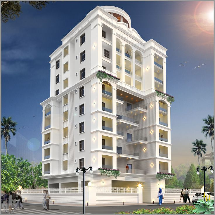 Modern Residential House Bungalow Exterior By Ar: One Of Residential Apartment Project In Pune, Maharashtra