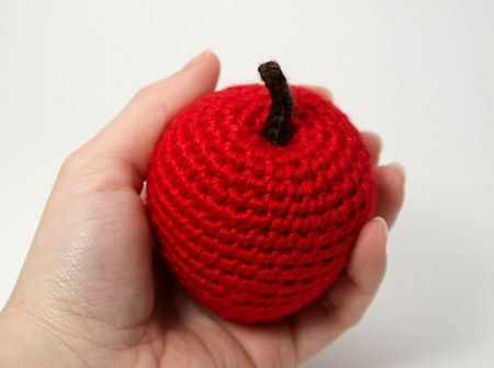 Amigurumi Apple: free pattern