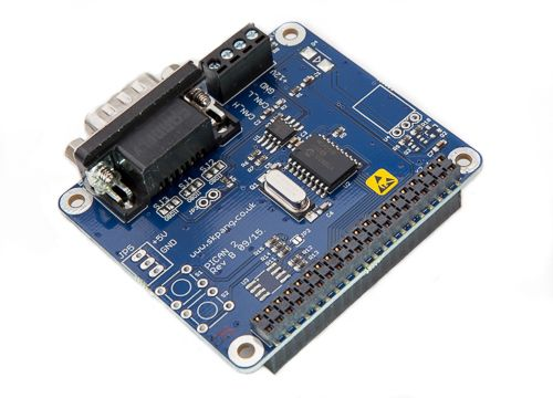 PiCAN2 - Controller Area Network (CAN) Bus Interface for Raspberry Pi 2, $46.95.