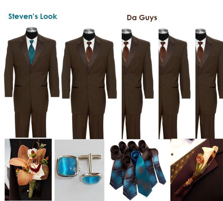 Brown Wedding Tux: Brown Tuxedos Weddings Styles