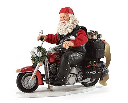 Department 56 Possible Dreams Christmas Santa's Boughs of Harley Figurine -- To view further for this item, visit the image link. (This is an affiliate link) #CollectibleFigurines