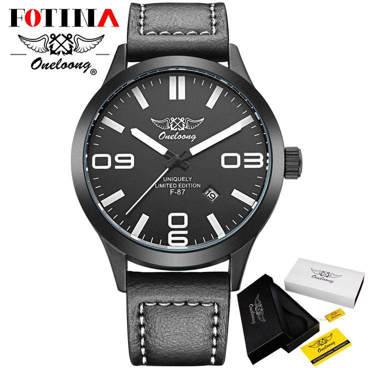 Geschenkdoos Fotina HK Merk ONELOONG Waterdichte Quartz Horloge Militaire Lederen Horloge Klok Sport Mannen Horloge Relogios Masculino in                          Fotina HK Merk ONELOONG Datum Quartz Horloge Mannen Casual Militaire Sport Horloges Lederen Pol van   op AliExpress.com | Alibaba Groep