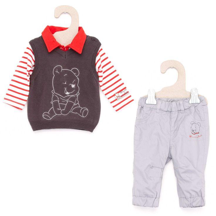 Driedelige set van 'Disney' Jongens babykleding - Kiabi - 15,00€