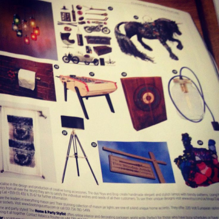 Home & Party Stylist in GQ magazine