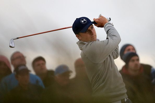 Fans at the British Open sang the Texas fight song to Jordan Spieth. - Streeter Lecka/Getty Images