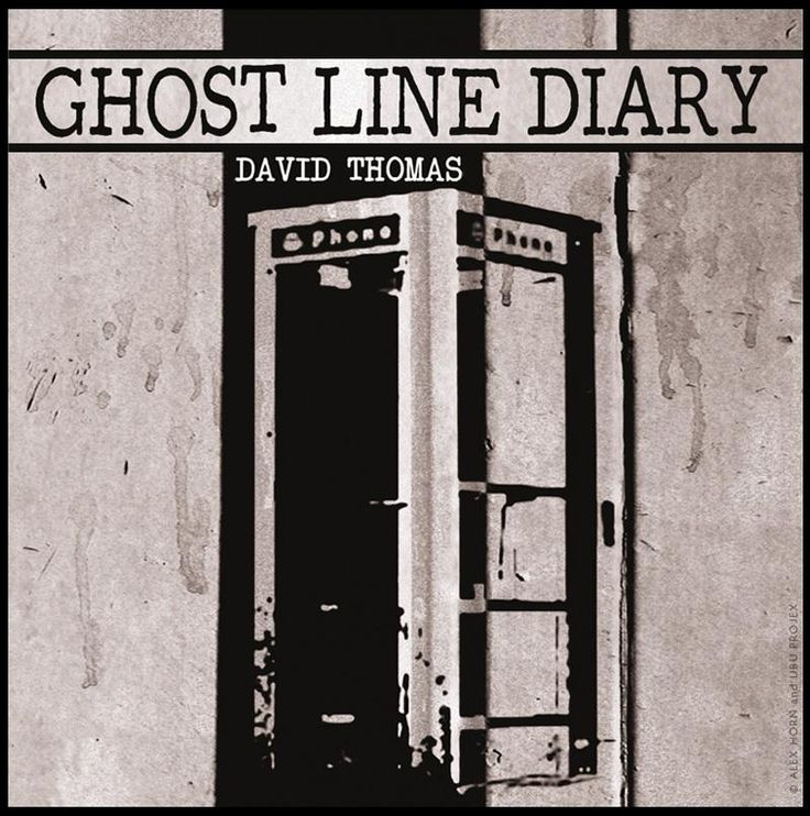 DAVID THOMAS : GHOST LINE DIARY Illustration & Design © Alex Horn