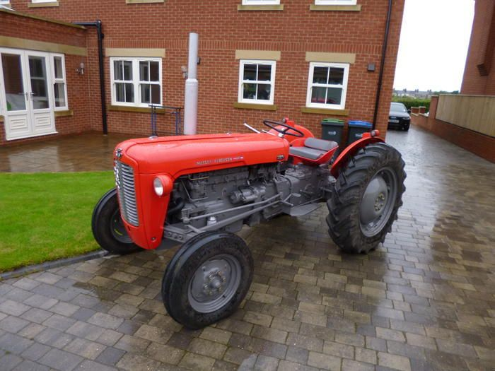 1958 Ferguson Tractor Attachments : Best images about tractors on pinterest cars logos