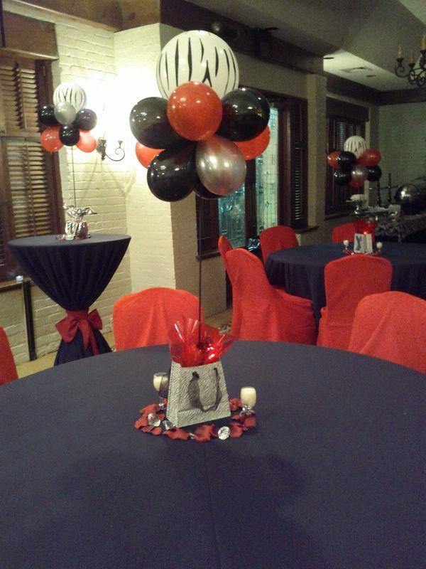 cheer banquet   Balloon Decor - Nola Party Boutique