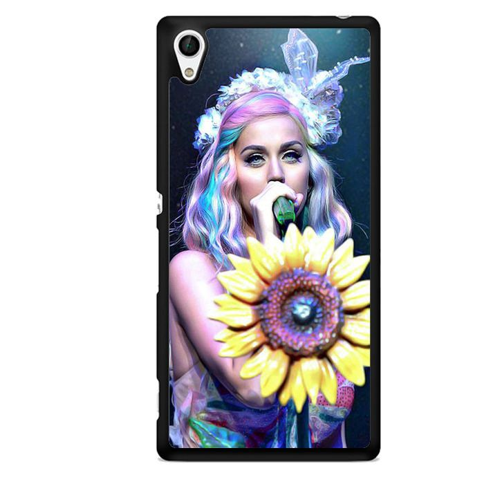 Katy Perry On Stage TATUM-6109 Sony Phonecase Cover For Xperia Z1, Xperia Z2, Xperia Z3, Xperia Z4, Xperia Z5