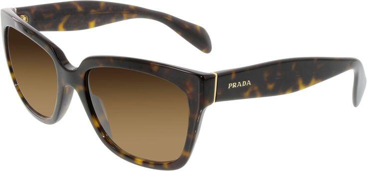 Prada Women'S Gradient  Pr07Ps-2Au6S1-56 Tortoiseshell Butterfly Sunglasses