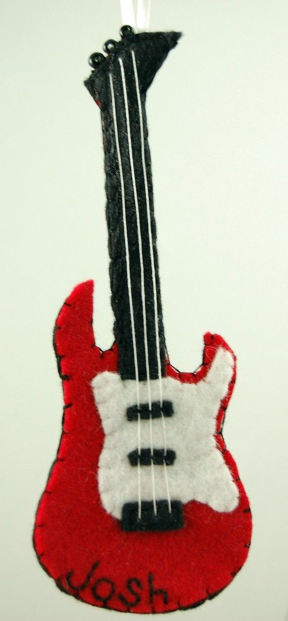 Felt Electric Guitar