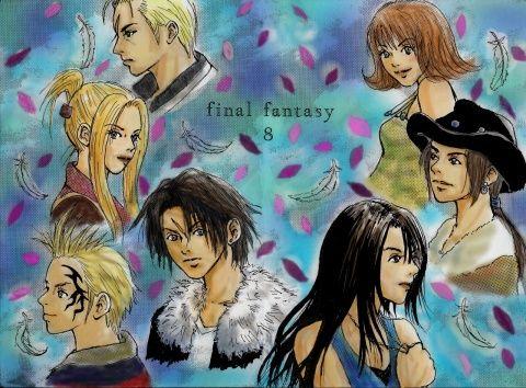 「Final Fantasy Ⅷ」/「tera」のイラスト [pixiv]