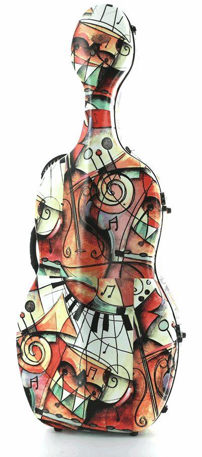 Estuche Cello Bogaro&Clemente Music Image