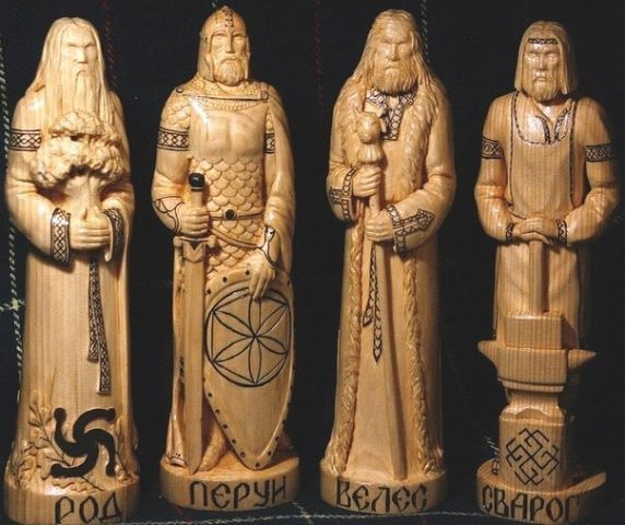 Slav Gods - Rod, Perun, Weles, Swarog