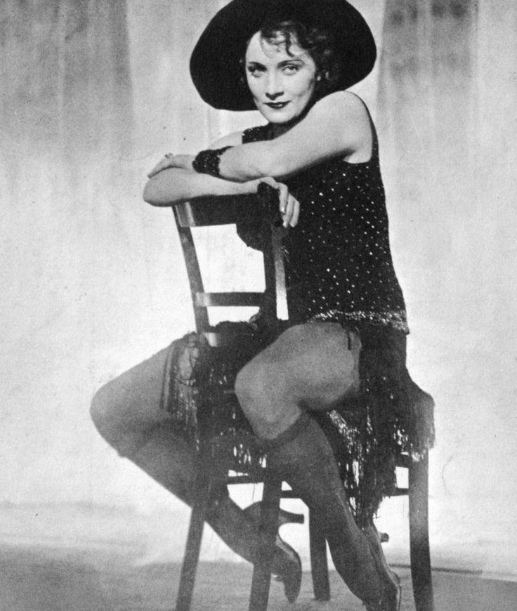 Marlene Dietrich. S)