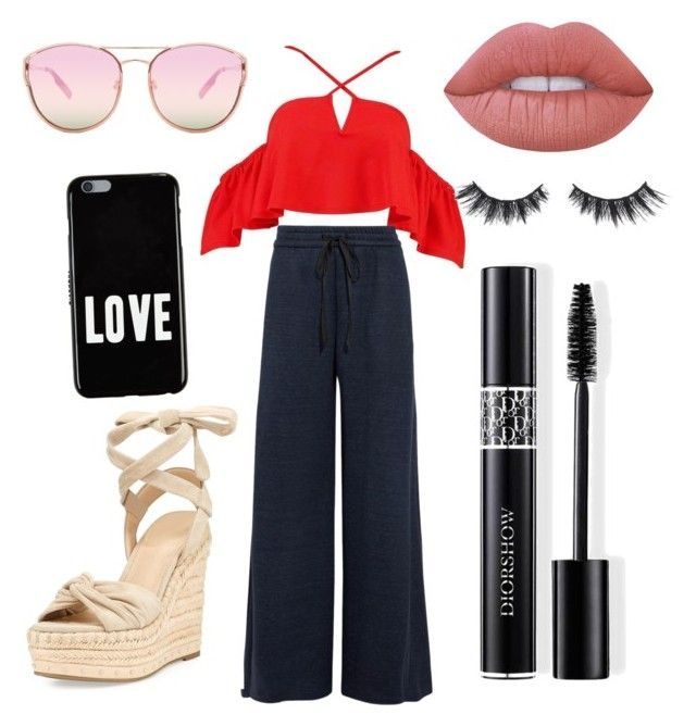 """""""#BRPGLB"""" by pulidopaola on Polyvore featuring moda, Boohoo, ADAM, Christian Dior, Violet Voss, Kendall + Kylie, Quay, Givenchy y Lime Crime"""