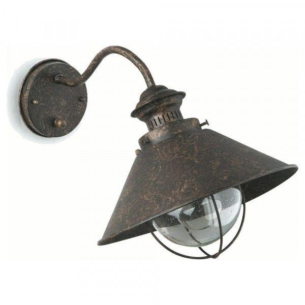 Außenlampe antik
