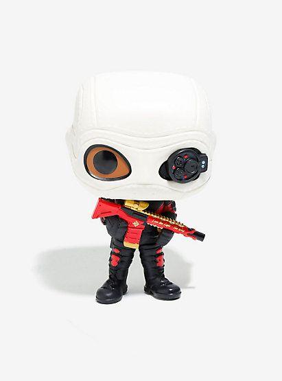 Funko Pop! DC Comics Suicide Squad Masked Deadshot Vinyl FigureFunko Pop! DC Comics Suicide Squad Masked Deadshot Vinyl Figure,