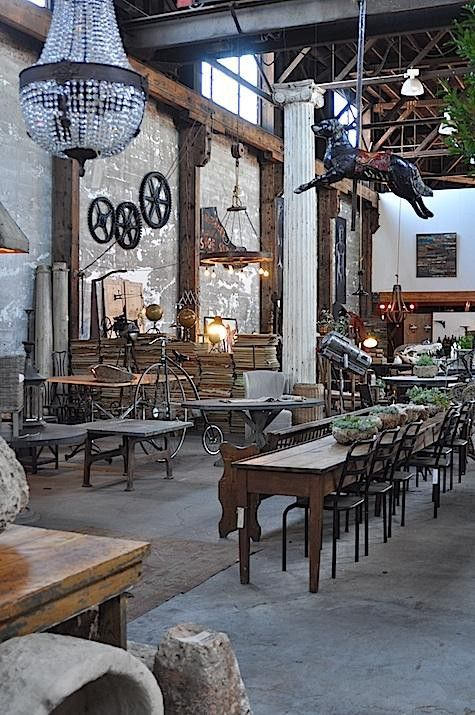 rustic and salvaged chandeliers