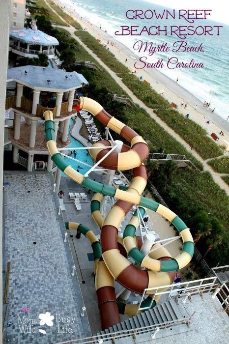 Crown Reef Beach Resort Review – Myrtle Beach, South Carolina #spon