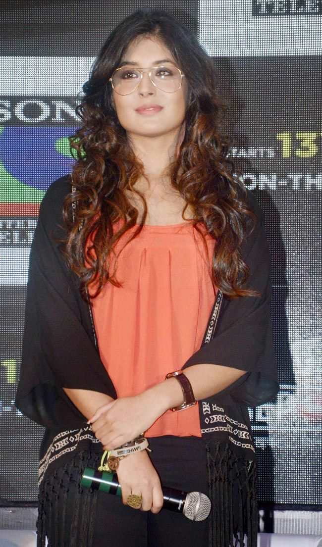 kritika kamra at the launch of reporters bollywood