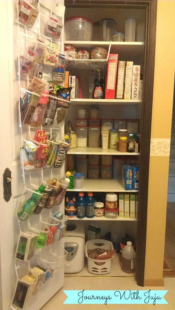 Journeys with Juju: Kitchen Pantry Organization