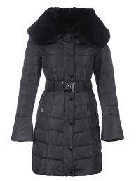 Lange winterjas voor dames